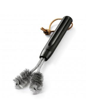 Щетка V-образная для очистки барбекю с пластмассовой ручкой
