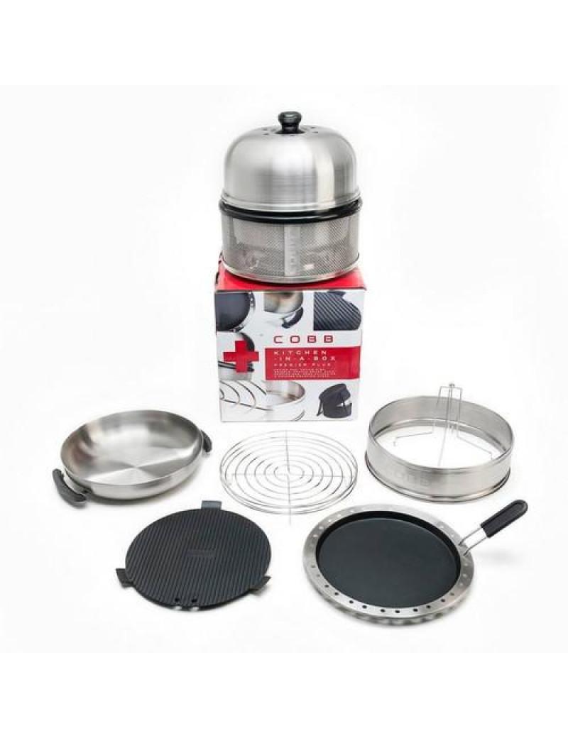 Вугільний Гриль Cobb Premier Kitchen in a box Kit 001