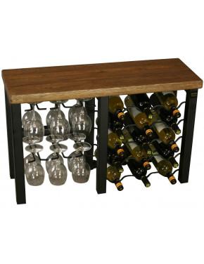 Hobbs Wine Rack 15 bottle Iron Металлический держатель 15 винных бутылок