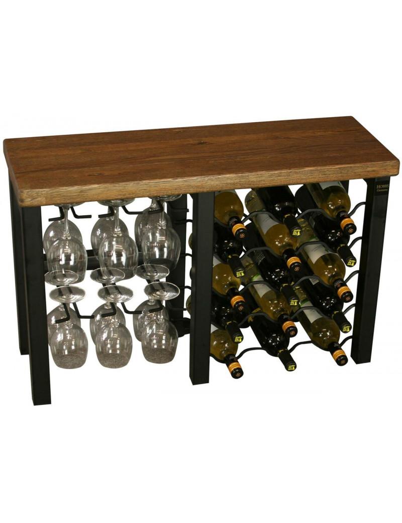 Hobbs Wine Rack 15 bottle  Iron Металевий тримач на 15 винних пляшок